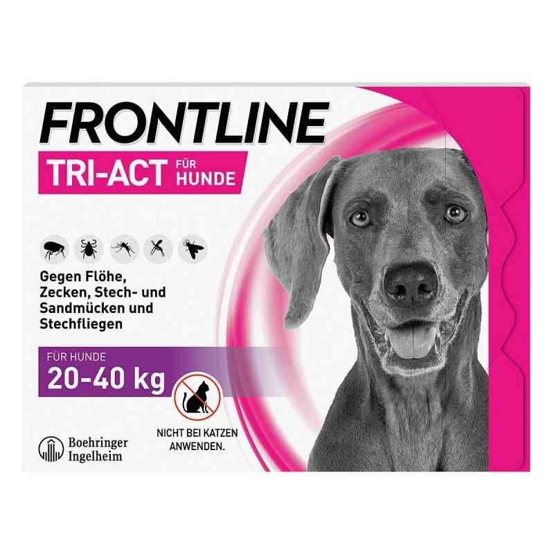 Frontline Tri-Act gegen Zecken, Flöhe bei Hunden (20-40kg)  bei apolux.de bestellen