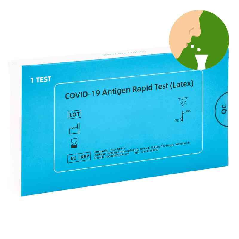 COVID-19 Antigen Saliva Schnelltest (Latex) Spucktest  bei apolux.de bestellen