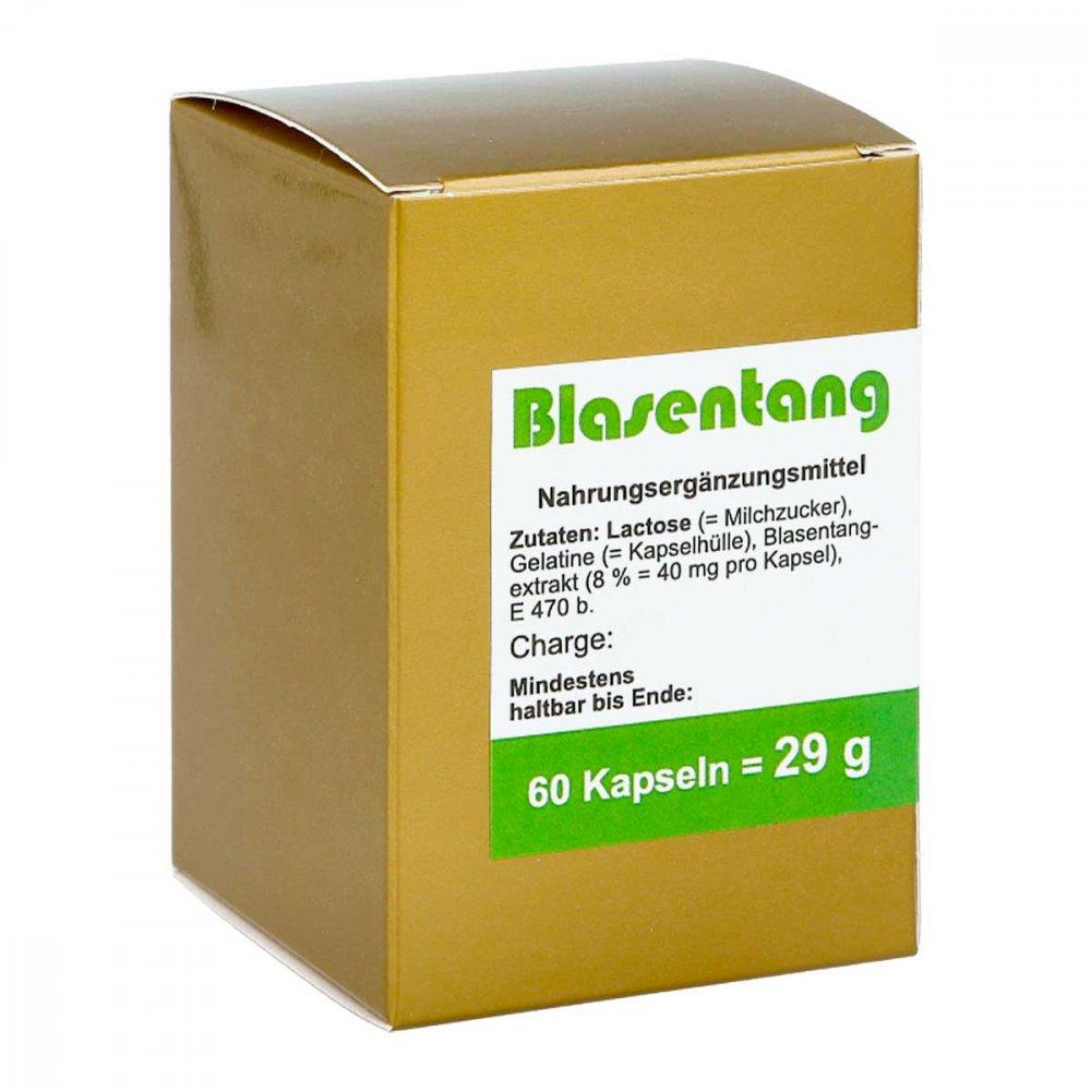 FBK-Pharma GmbH Blasentang Kapseln 60 stk 00004860