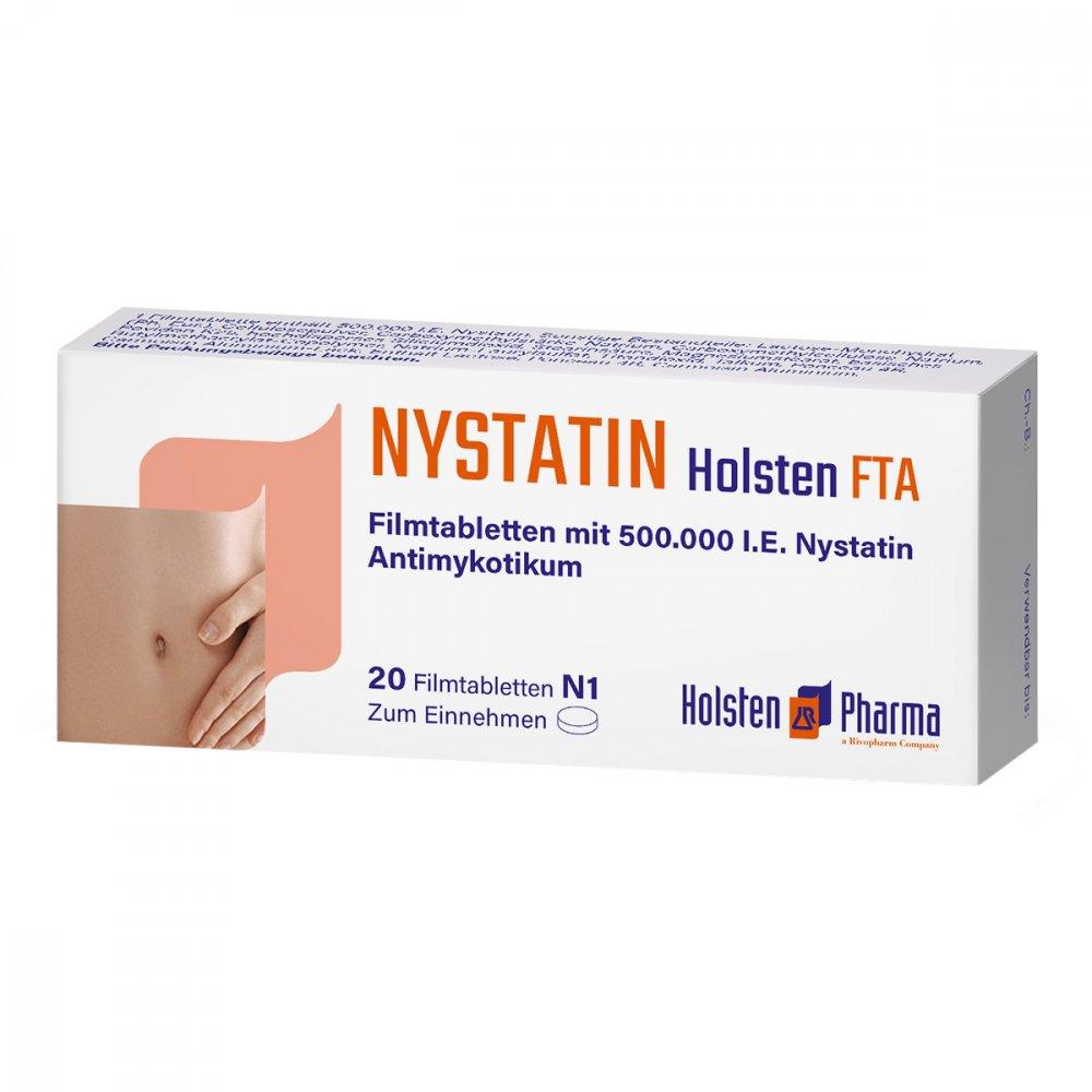 Holsten Pharma GmbH Nystatin Holsten 20 stk 00032537