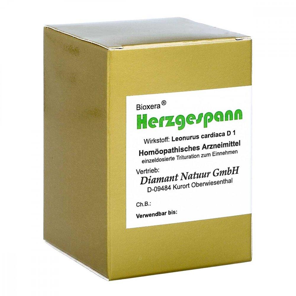 Herzgespann Bioxera Kapseln 60 stk 00062395