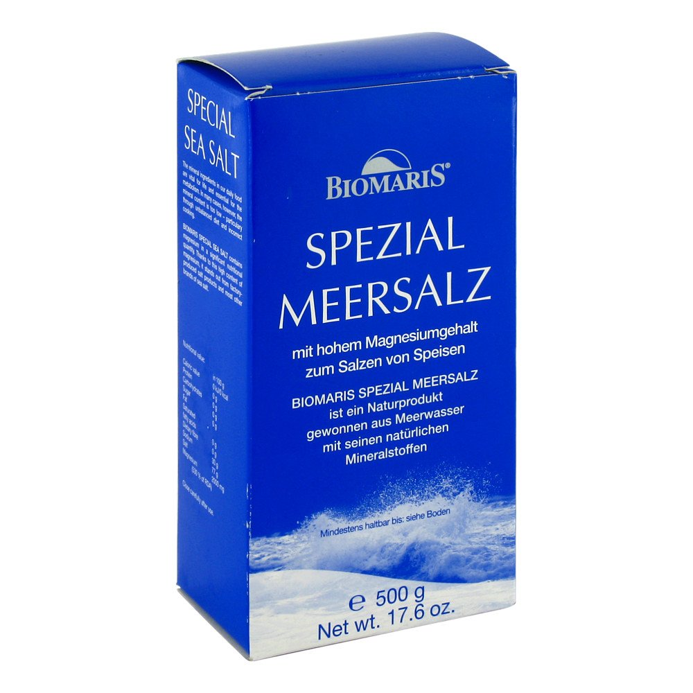 BIOMARIS GmbH & Co. KG Biomaris Spezial Meersalz 500 g 00133534