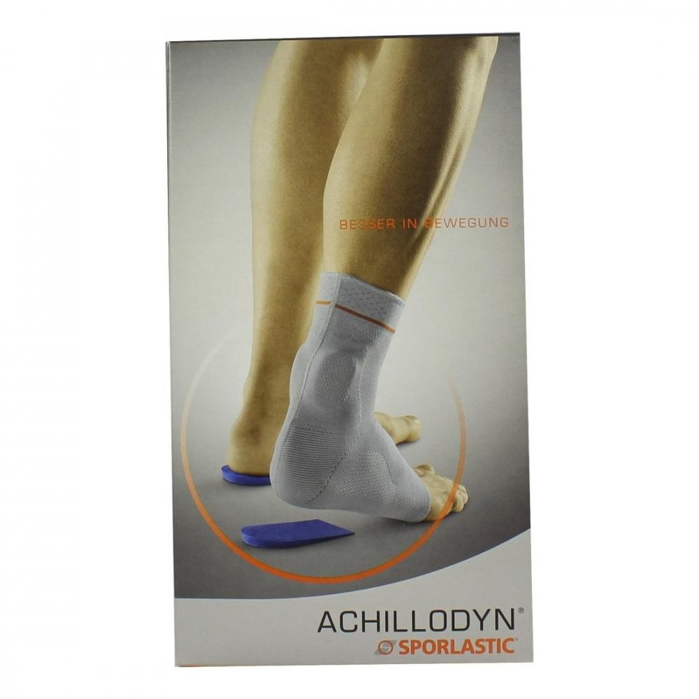 SPORLASTIC GmbH Achillodyn Achillessehnenbandage Größe 4 schwarz07071 1 stk 00329183