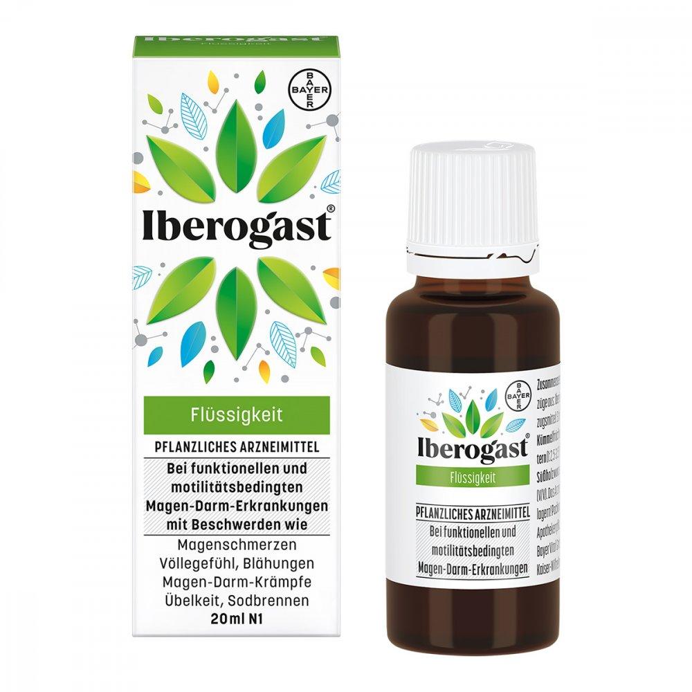 Bayer Vital GmbH Iberogast bei Magen-Darm-Beschwerden 20 ml 00514644