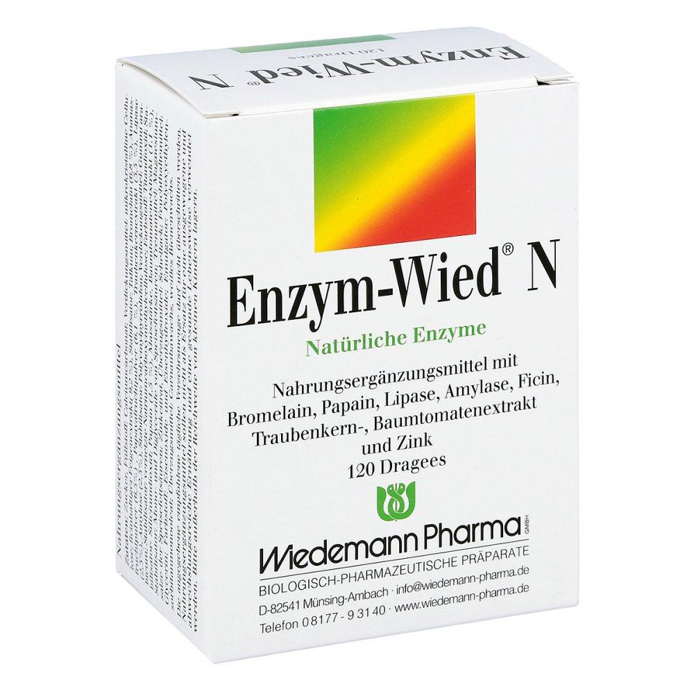 Mauermann Arzneimittel KG Enzym Wied N Dragees 120 stk 00602199