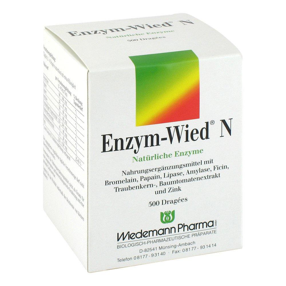 Mauermann Arzneimittel KG Enzym Wied N Dragees 500 stk 00602207