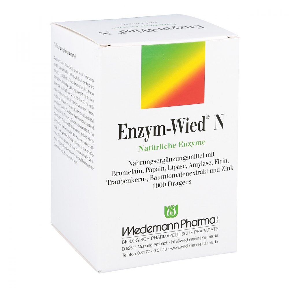 Mauermann Arzneimittel KG Enzym Wied N Dragees 1000 stk 00602213