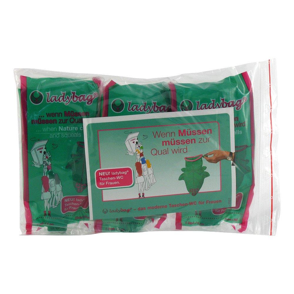 KETS GmbH Ladybag Taschen Wc für Frauen 3 stk 00647405