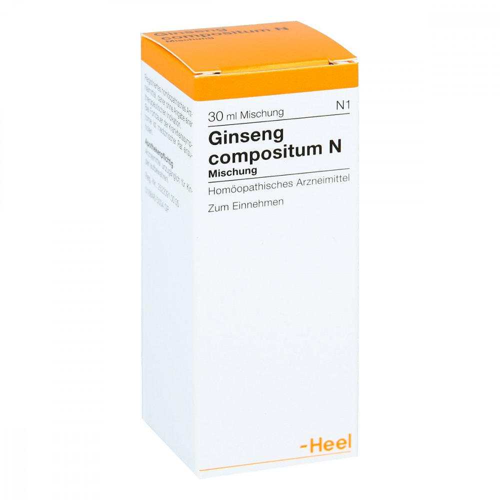 Biologische Heilmittel Heel GmbH Ginseng Compositum N Tropfen 30 ml 00738869