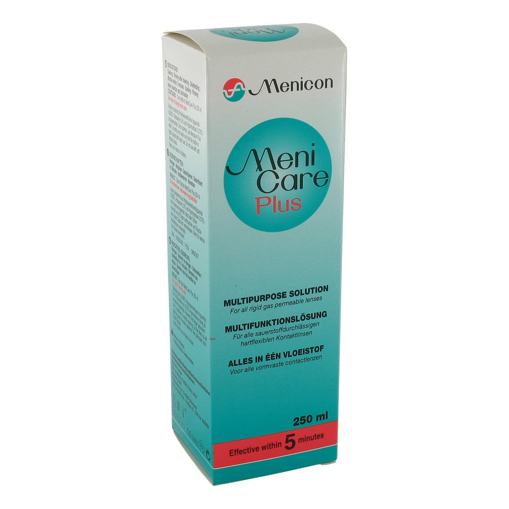 MENICON GmbH Meni Care Plus Kontaktlinsenpflegemittel 250 ml 00882307