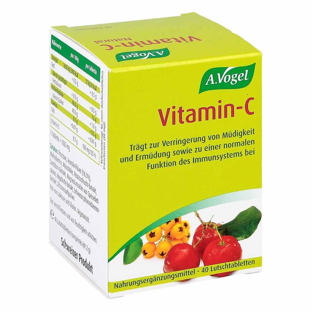 Kyberg Pharma Vertriebs GmbH Vitamin C A. Vogel Lutschtabletten 40 stk 01094888