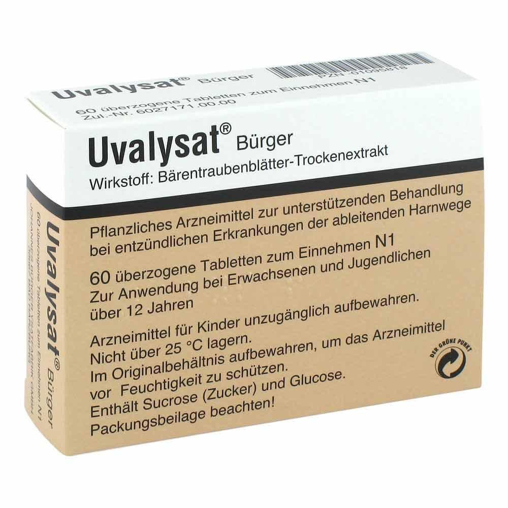 Johannes Bürger Ysatfabrik Gmb Uvalysat Bürger 60 stk 01095818
