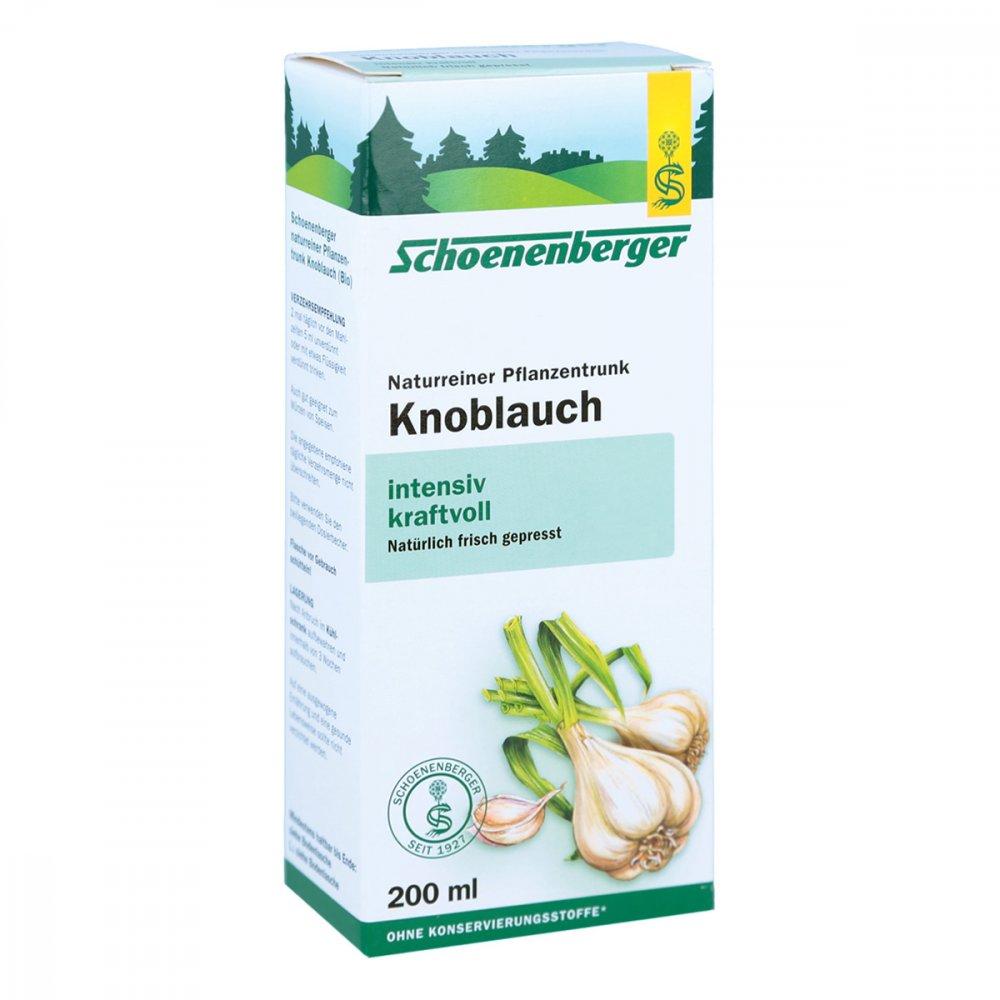 SALUS Pharma GmbH Knoblauch Naturreiner Pflanzentr.schoenenberger 200 ml 01159487