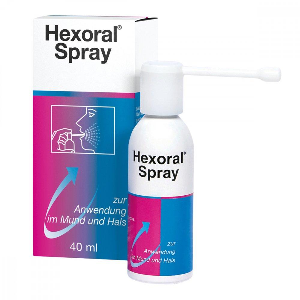 Johnson & Johnson GmbH (OTC) Hexoral®Spray bei Zahnfleischentzündung 40 ml 01409300