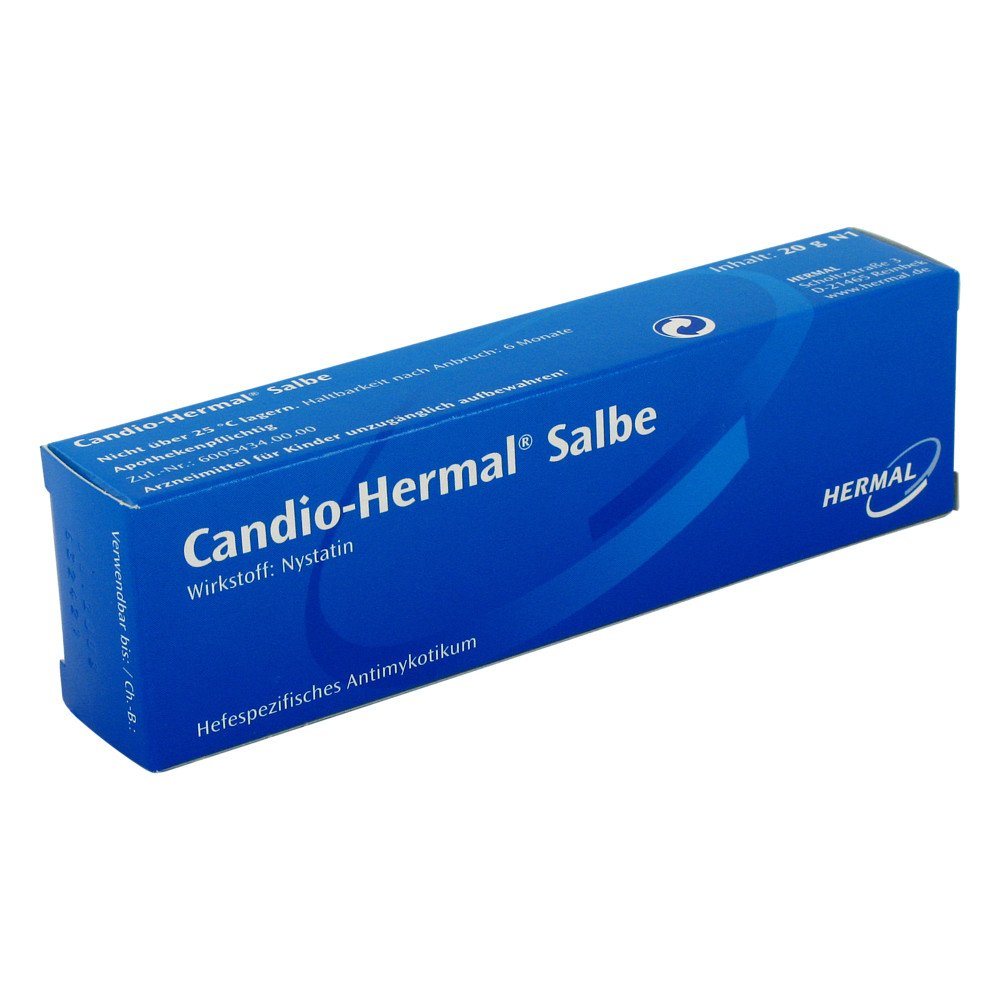 ALMIRALL HERMAL GmbH Candio-Hermal 100000 I.E./g 20 g 01438000