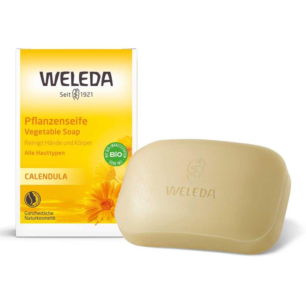 WELEDA AG Weleda Calendula Pflanzenseife 100 g 01476822