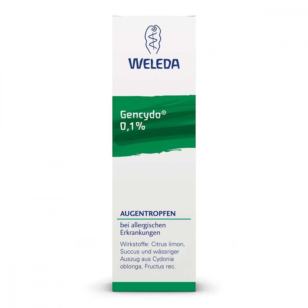 WELEDA AG Gencydo 0,1% Augentropfen 10 ml 01572773
