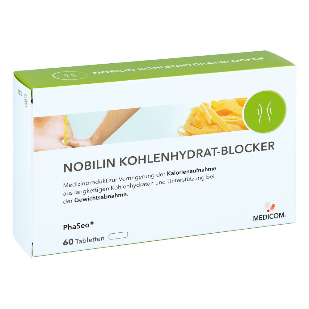 Medicom Pharma GmbH Nobilin Kohlenhydrat-blocker Tabletten 60 stk 01647181