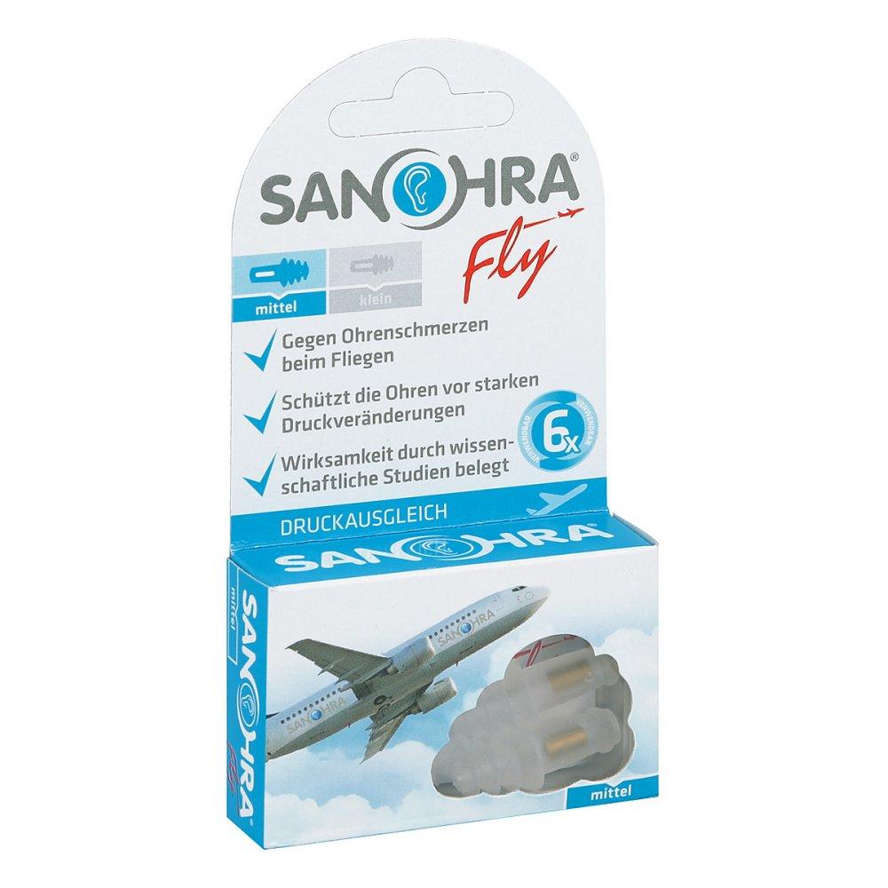 Sanohra fly für Erwachsene  Ohrenschutz 2 stk