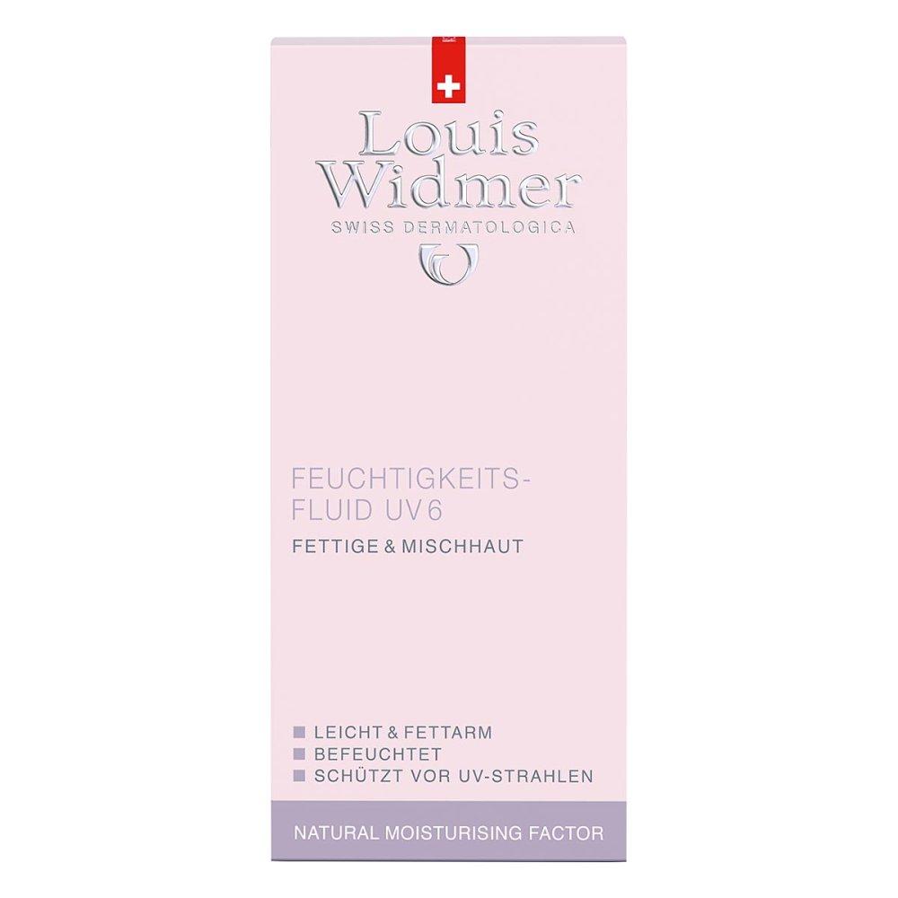 LOUIS WIDMER GmbH Widmer Feuchtigkeitsfluid Uv6 leicht parfümiert 50 ml 01997685