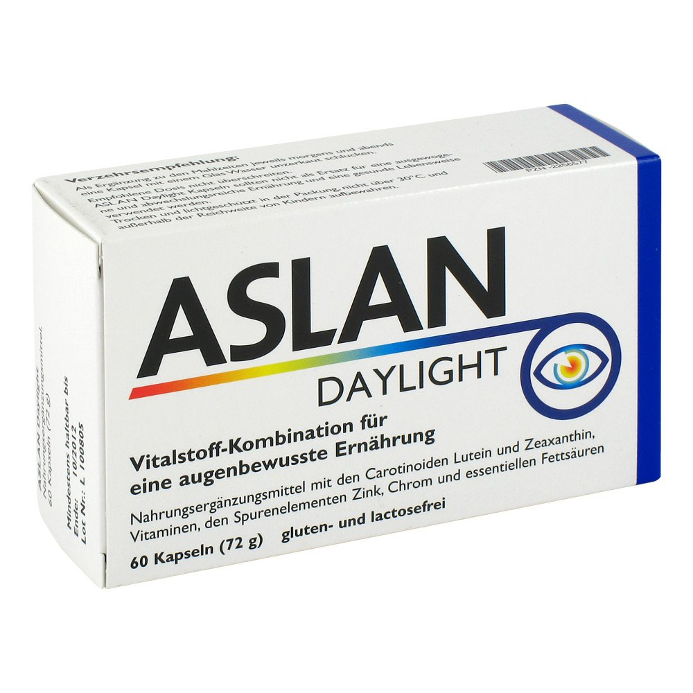 Aslan GmbH Aslan Daylight Kapseln 60 stk 02256577