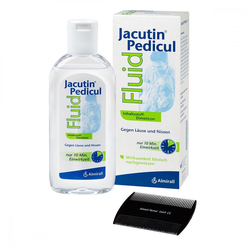 ALMIRALL HERMAL GmbH Jacutin Pedicul Fluid mit Nissenkamm 200 ml 02296832