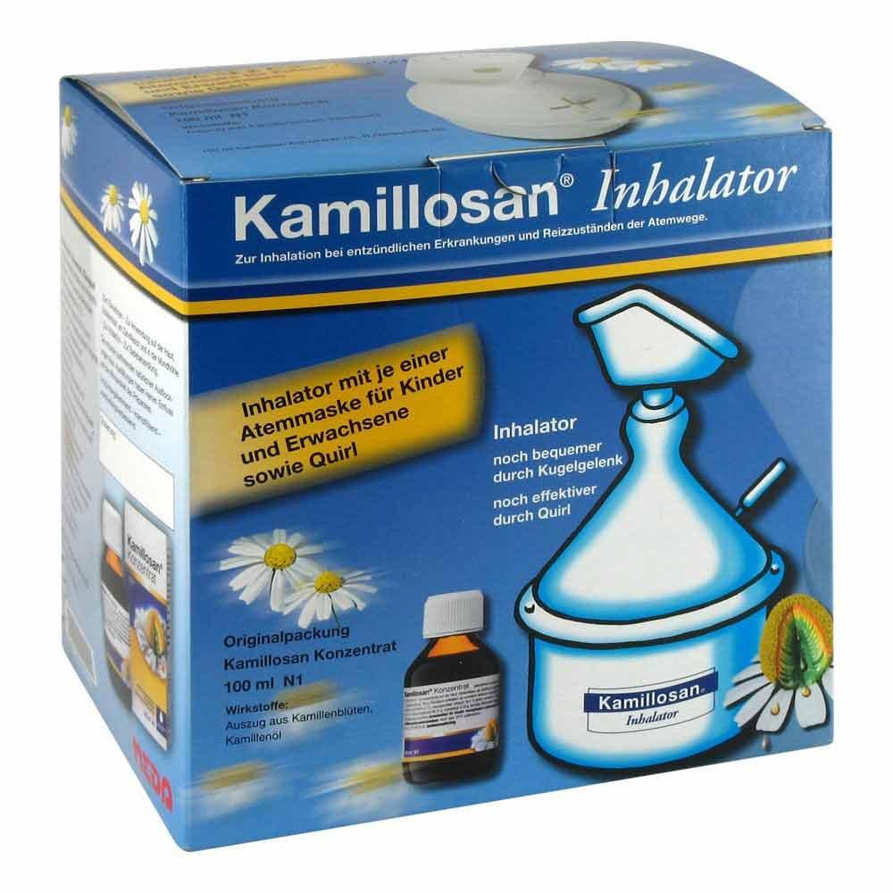 MEDA Pharma GmbH & Co.KG Kamillosan Konzentrat + Inhalator 100 ml 02395563