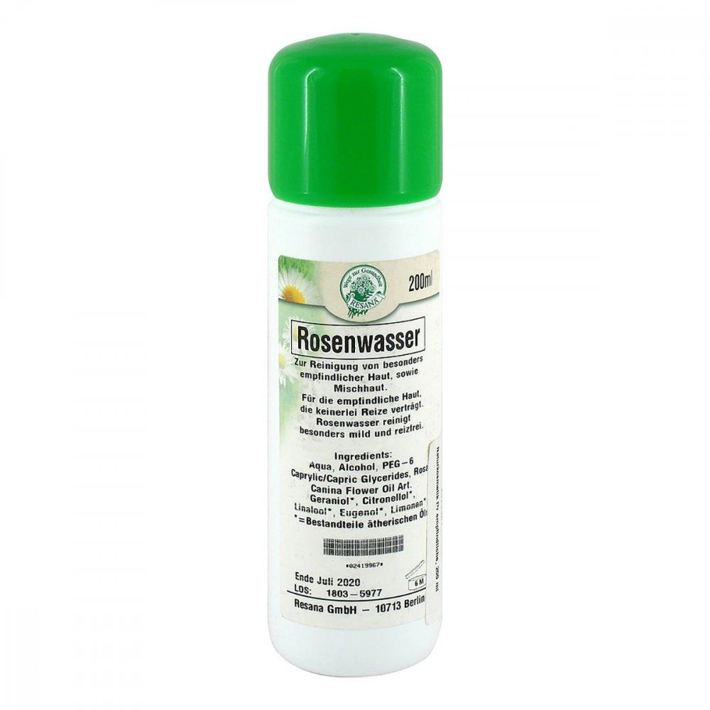 Resana GmbH Naturkosmetik für empf.Haut Rosenwasser 200 ml 02419967