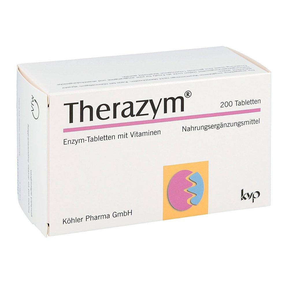 Köhler Pharma GmbH Therazym Tabletten 200 stk 02471353