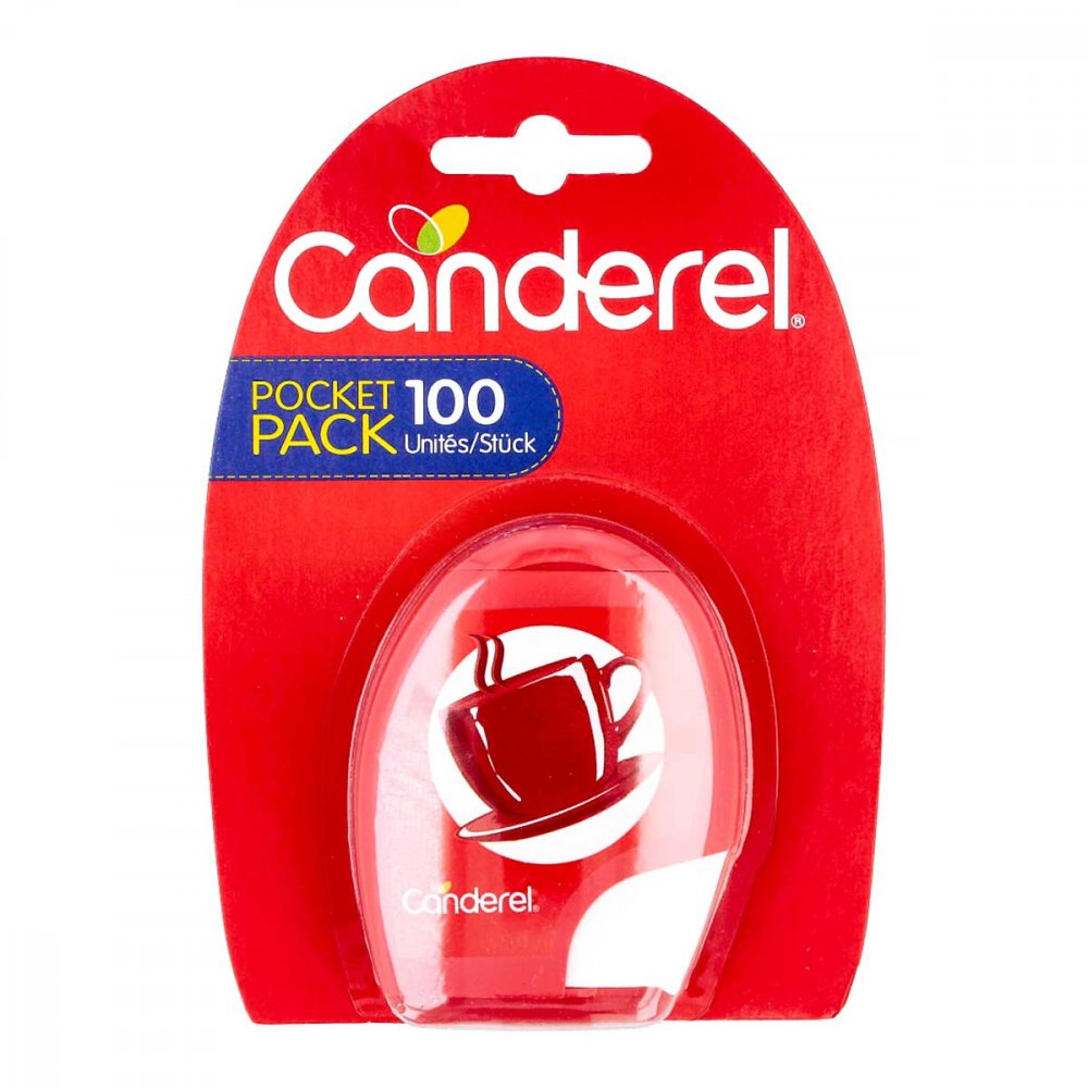 CosNem Canderel Tafelsuesse 100 stk 02564600