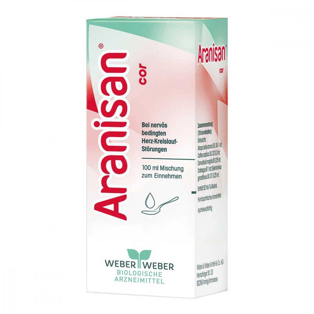 WEBER & WEBER GmbH & Co. KG Aranisan Cor Tropfen zum Einnehmen 100 ml 02565143