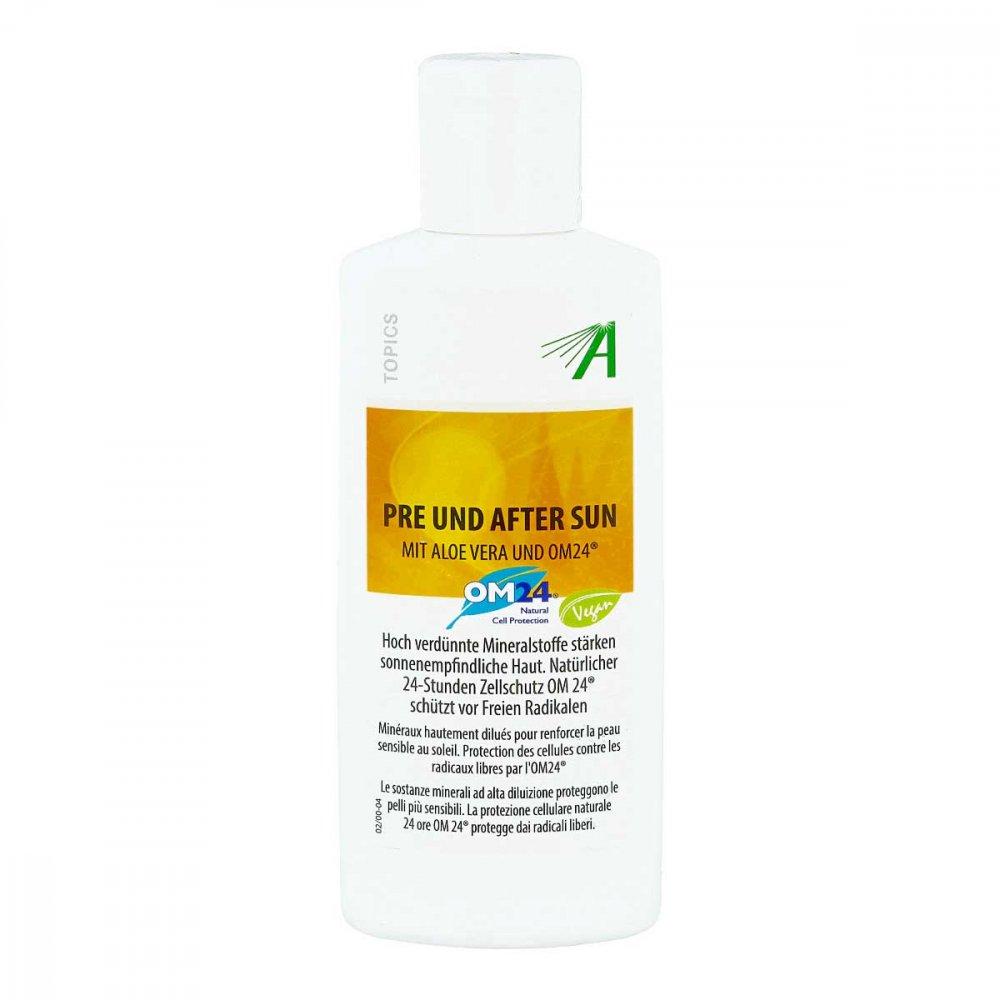 Adler Pharma Produktion und Vert Mineralstoff Pre und After Sun mit Aloe Vera Gel 200 ml 02735993