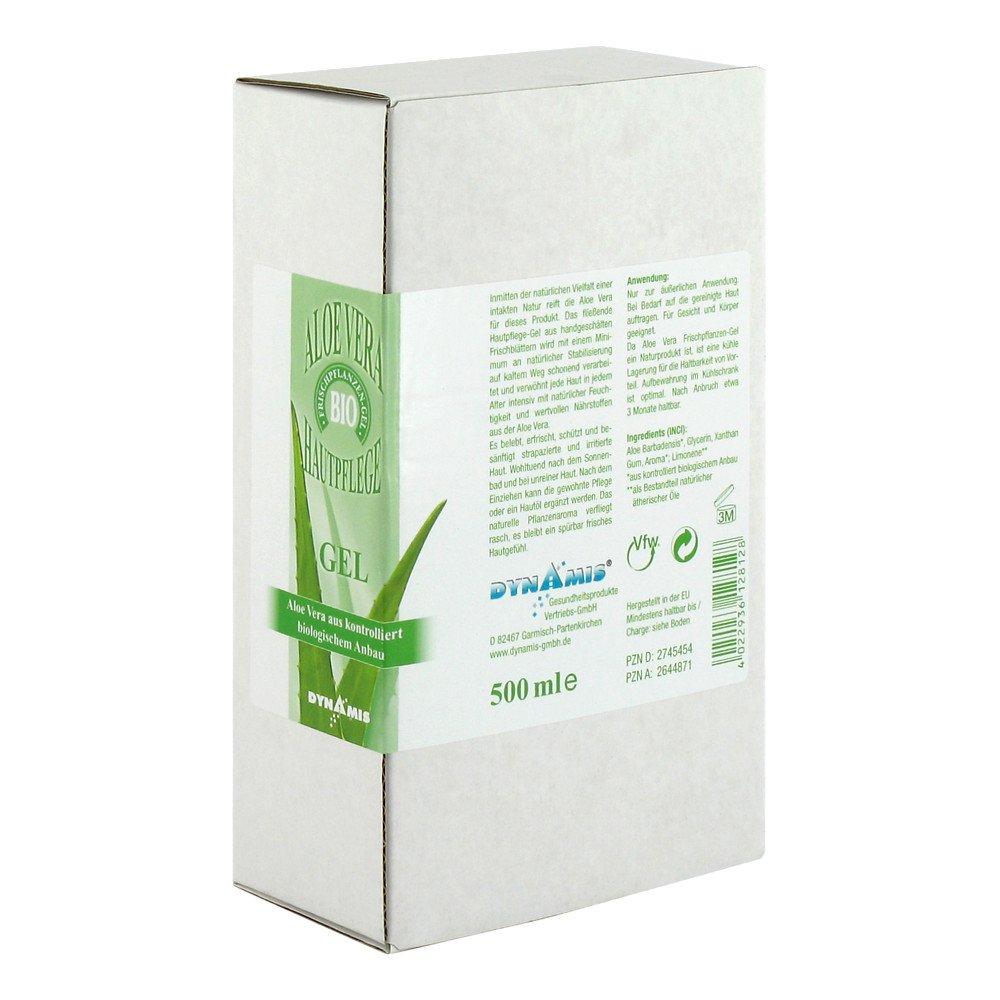 Dynamis Gesundheitsprod.Vertr.Gm Aloe Vera 98% Bio Kanaren Gel 500 ml 02745454