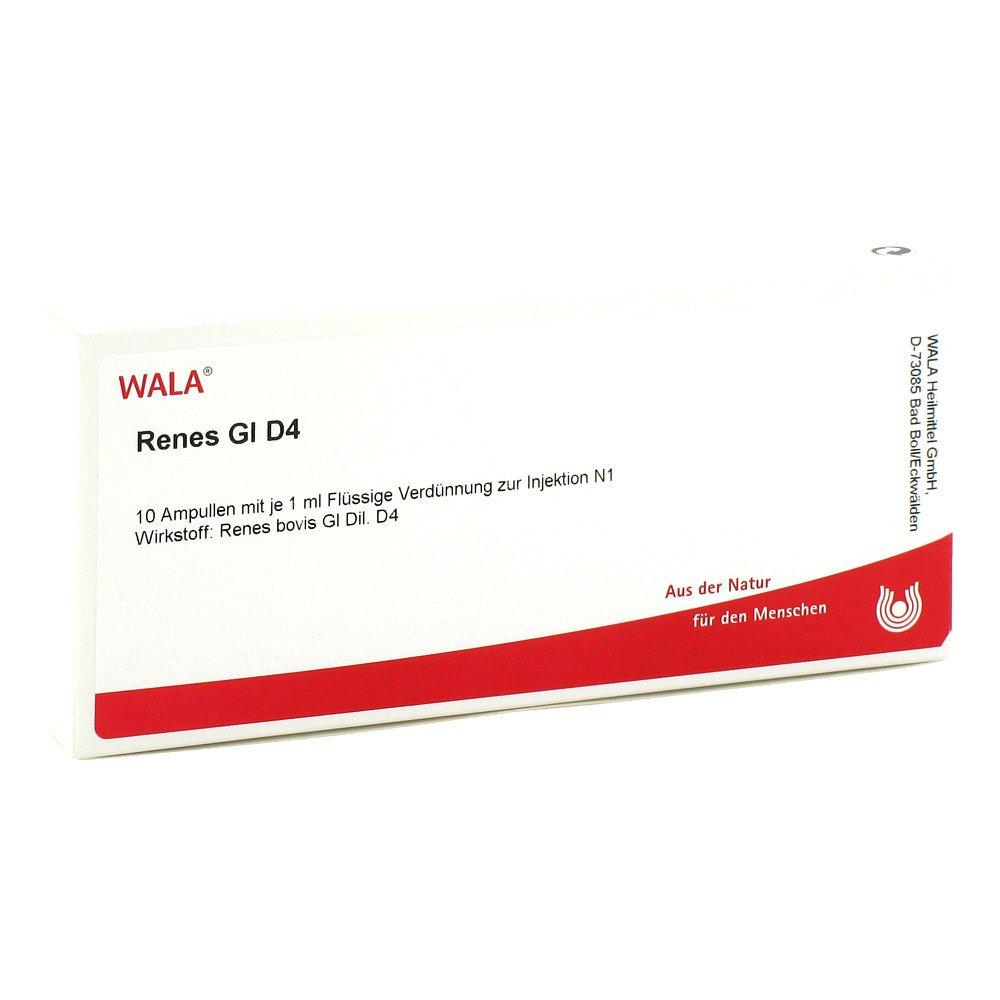 WALA Heilmittel GmbH Renes Gl D4 Ampullen 10X1 ml 02829599