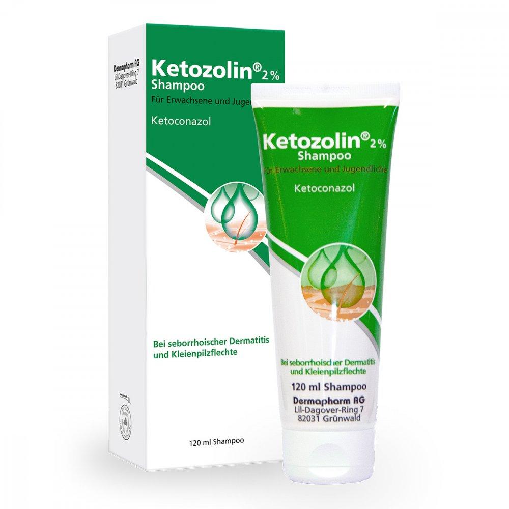 DERMAPHARM AG Ketozolin 2% Shampoo 120 ml 02837759