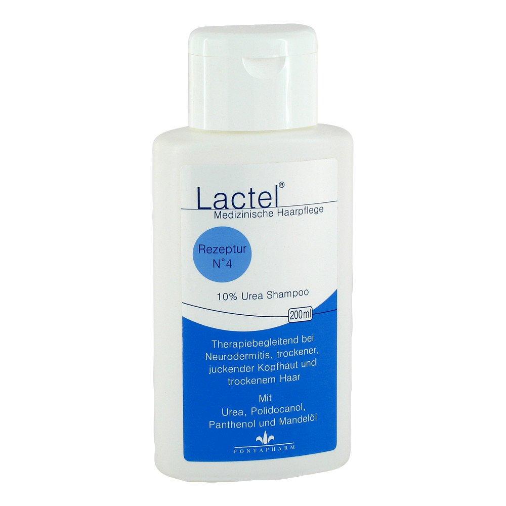 Fontapharm AG Lactel Nummer 4 Shampoo gegen trock.jucken.Kopfhaut 200 ml 02859005