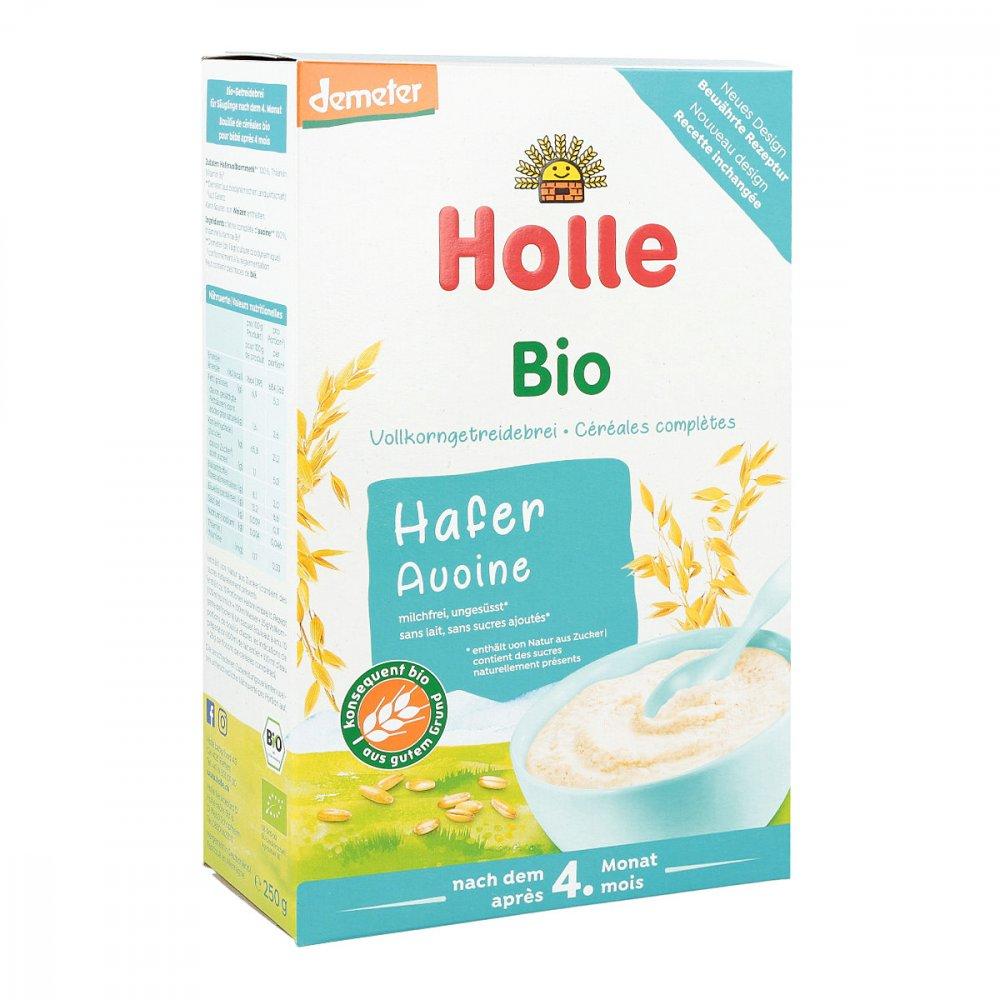 Holle baby food AG Holle Bio Babybrei Haferflocken 250 g 02907856