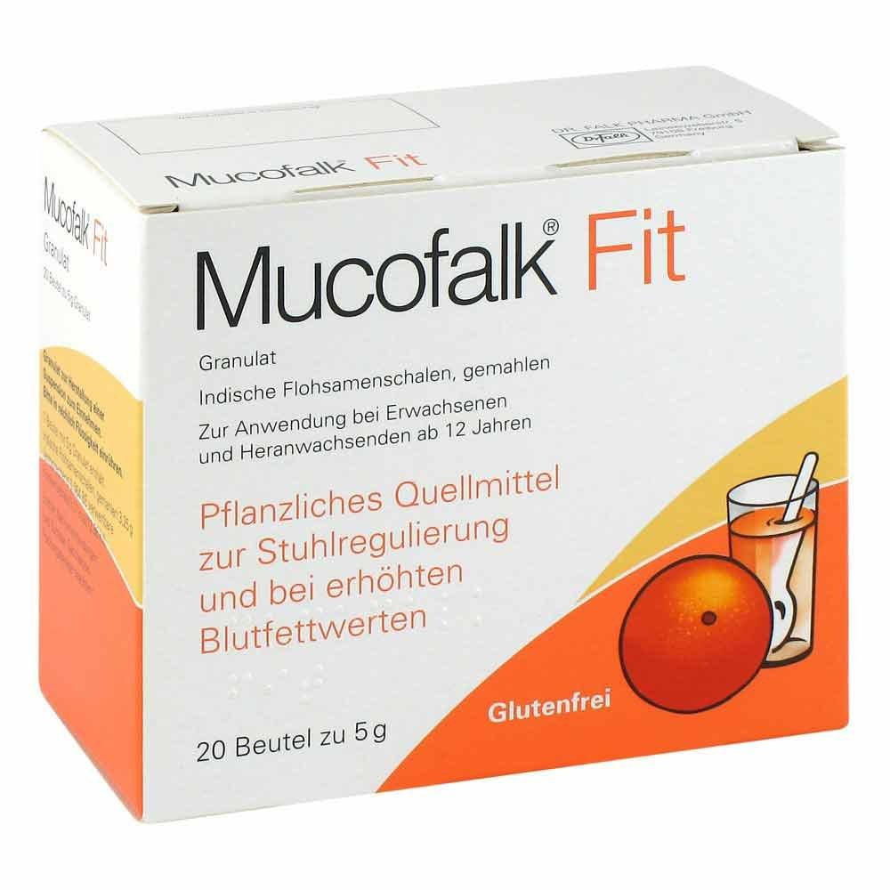 Dr. Falk Pharma GmbH Mucofalk Fit 20 stk 03062987