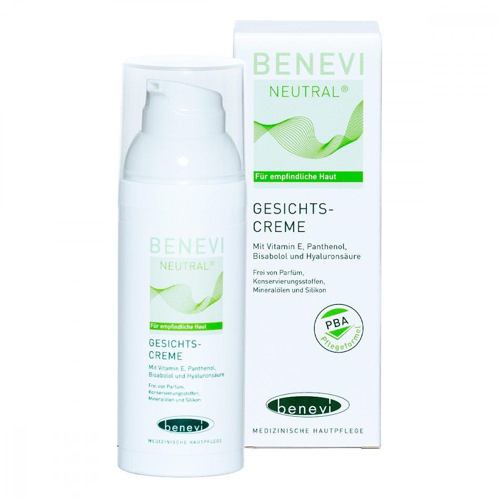 Benevi Med GmbH & Co. KG Benevi Neutral Gesichts-creme 50 ml 03069222
