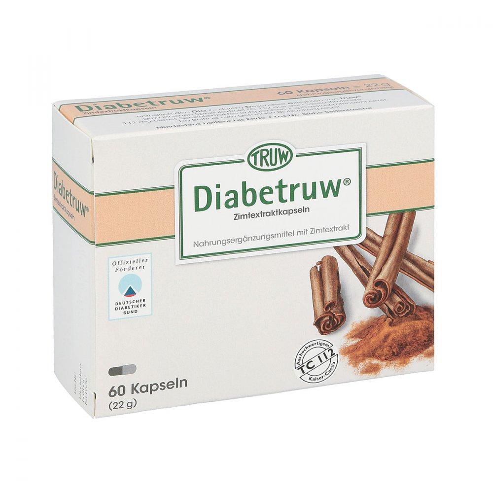 Med Pharma Service GmbH Diabetruw Zimtkapseln 60 stk 03072684