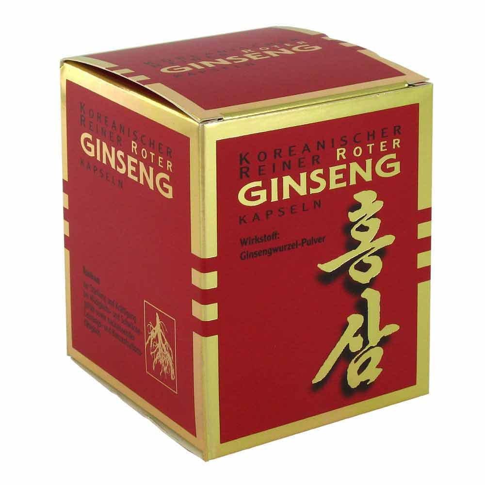KGV Korea Ginseng Vertriebs GmbH Koreanischer Reiner Roter Ginseng Kapseln 300mg 200 stk 03157593