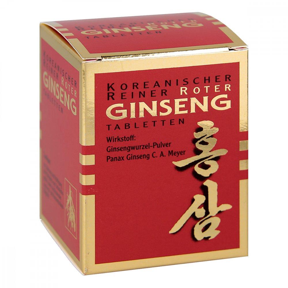 KGV Korea Ginseng Vertriebs GmbH Koreanischer Reiner Roter Ginseng 200 stk 03157601