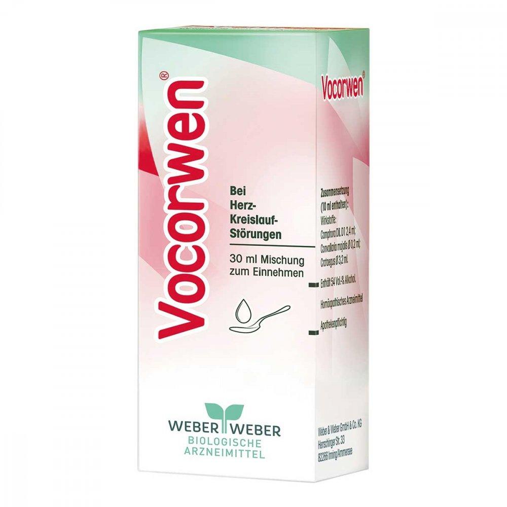 WEBER & WEBER GmbH & Co. KG Vocorwen Tropfen zum Einnehmen 30 ml 03300010