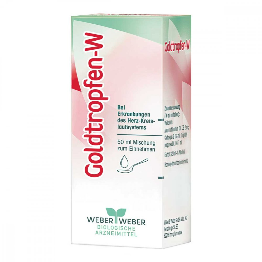 WEBER & WEBER GmbH & Co. KG Goldtropfen W Tropfen zum Einnehmen 50 ml 03317772