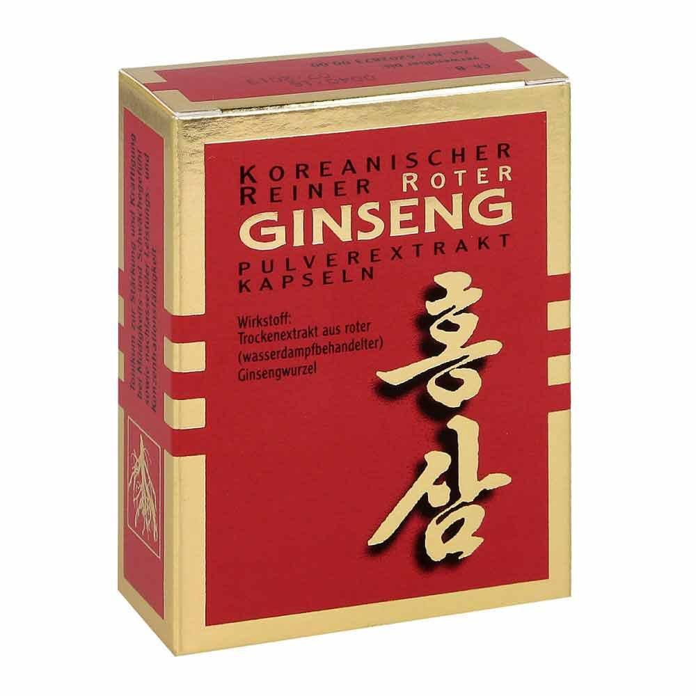 KGV Korea Ginseng Vertriebs GmbH Roter Ginseng Extrakt Kapseln 30 stk 03444944