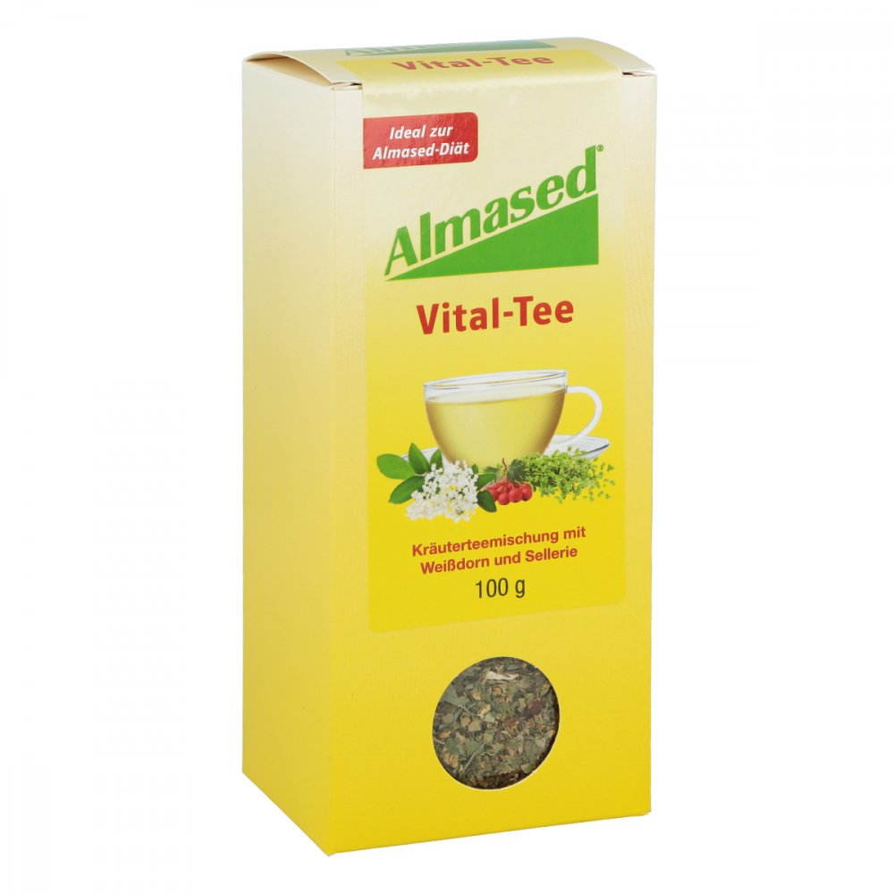 Almased Wellness GmbH Almased Vital-Tee 100 g 03497662