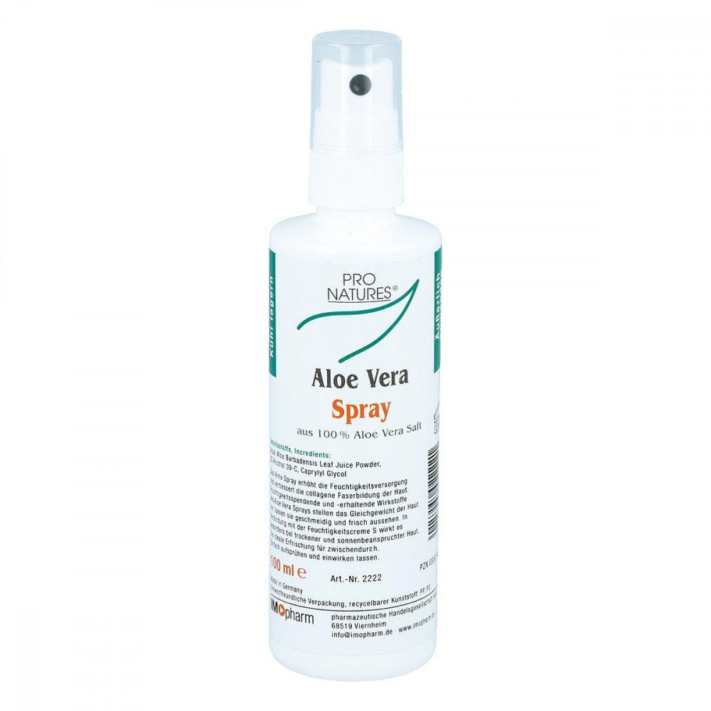 IMOPHARM pharm.Handelsges.mbH Aloe Vera 100% pur pro Natur Spray 100 ml 03521426