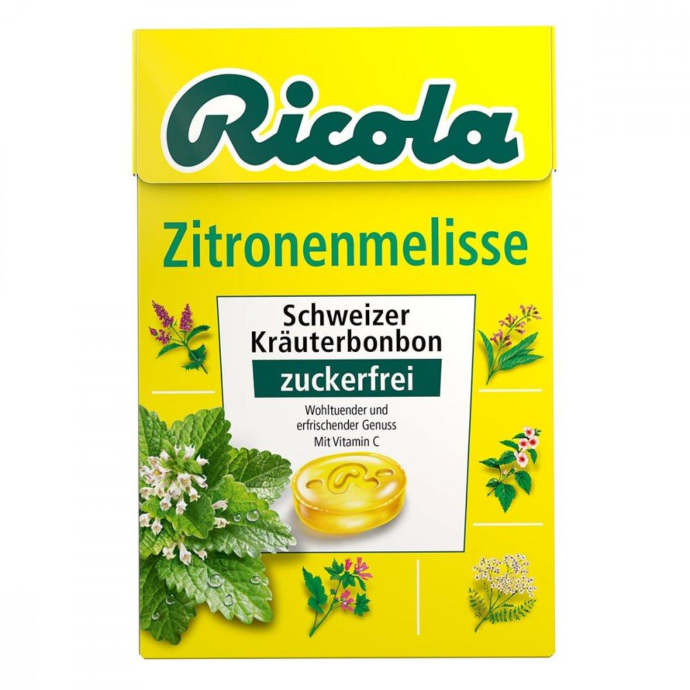 Queisser Pharma GmbH & Co. KG Ricola ohne Zucker Box Zitronenmelisse Bonbons 50 g 03648782