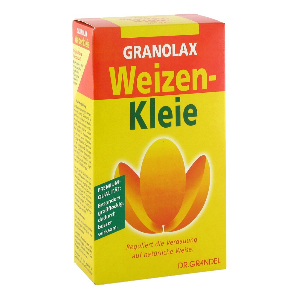 Dr. Grandel GmbH Weizenkleie Granolax Grandel Pulver 200 g 03684499