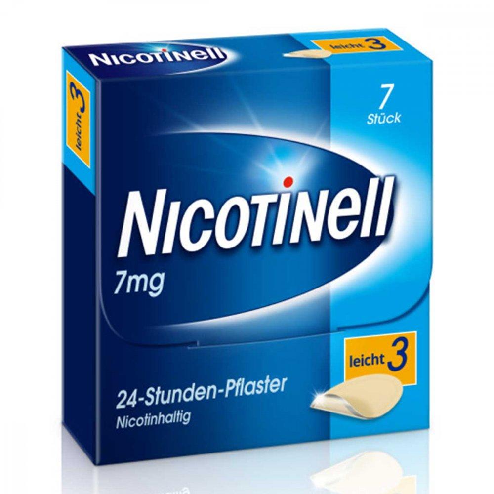GlaxoSmithKline Consumer Healthc Nicotinell 7mg/24-Stunden-Nikotinpflaster, Leicht (3) 7 stk 03764502